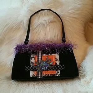 Handbags - Halloween Handbag. Sequins Spider.